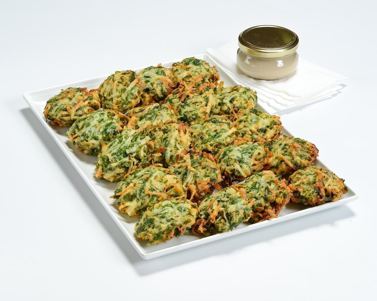 מגש לביבות ירק